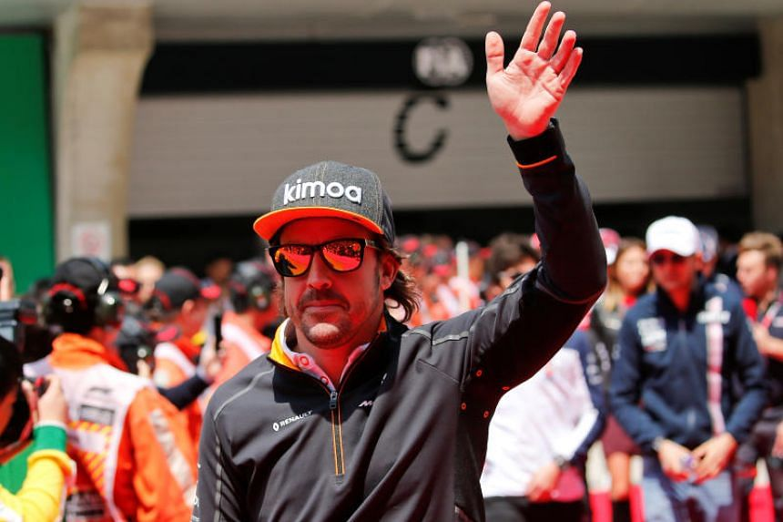 McLaren's Fernando Alonso is sixth in the Formula One drivers' standings after four races.