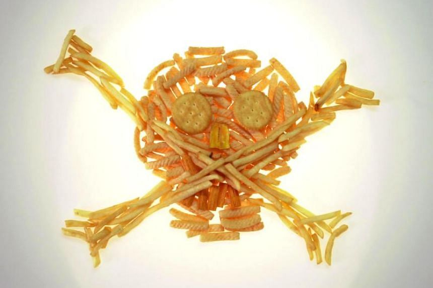 Trans fat can be found in fried foods such as fries.