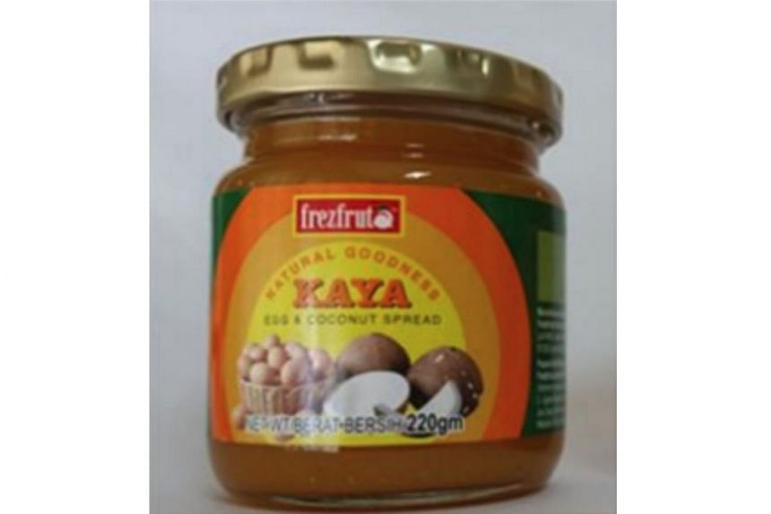 A bottle of Frezfrut Natural Goodness Kaya, which is from Malaysia, is suspected to have been contaminated with pest droppings during the manufacturing process.