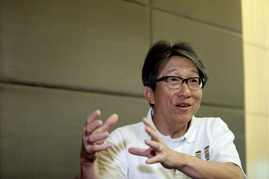 Lim Swee Say, 63, was presented with the Distinguished Comrade of Labour at the annual May Day Awards ceremony.