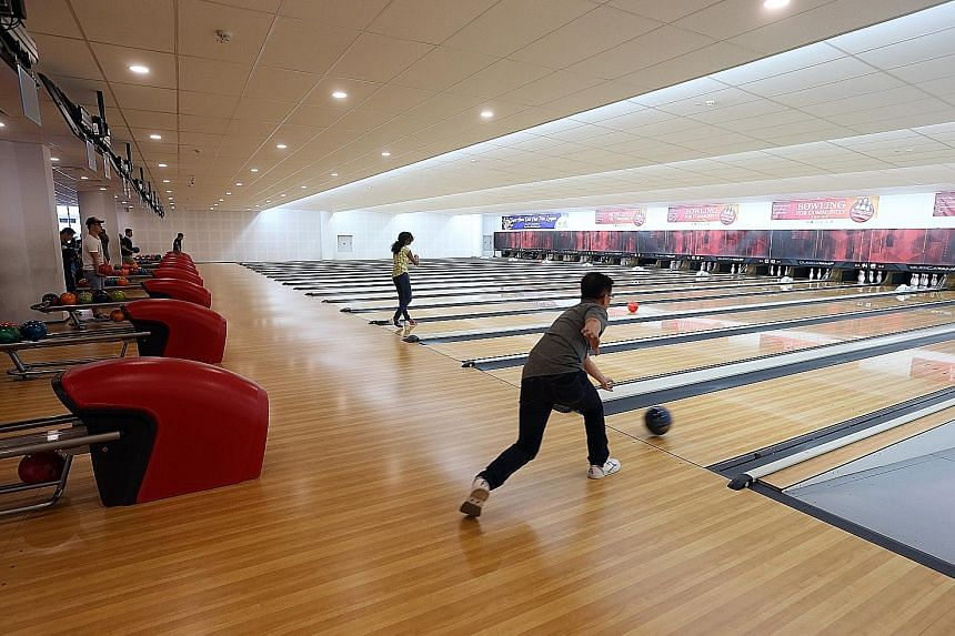 New community club has a bowling alley - a first, Singapore