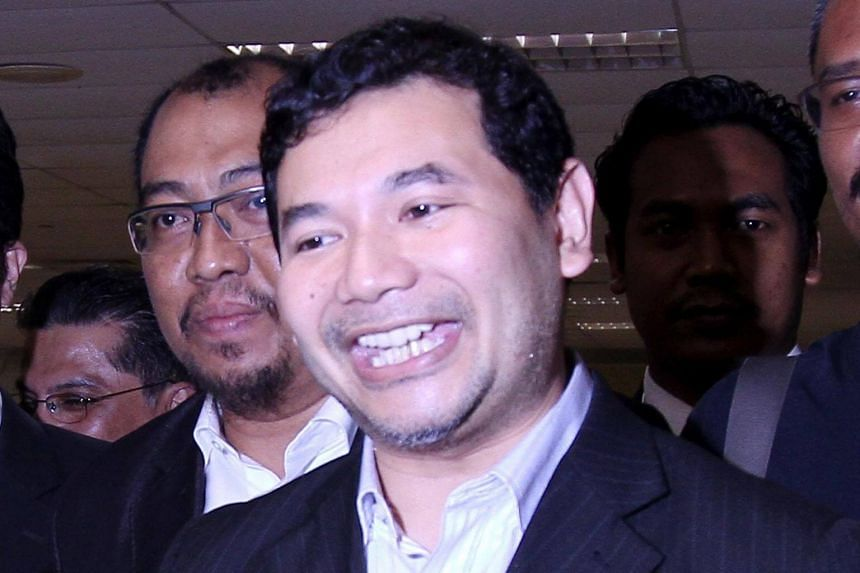"""Parti Keadilan Rakyat vice-president Rafizi Ramli is the second opposition leader to be investigated under a law passed last month that criminalises """"fake news""""."""