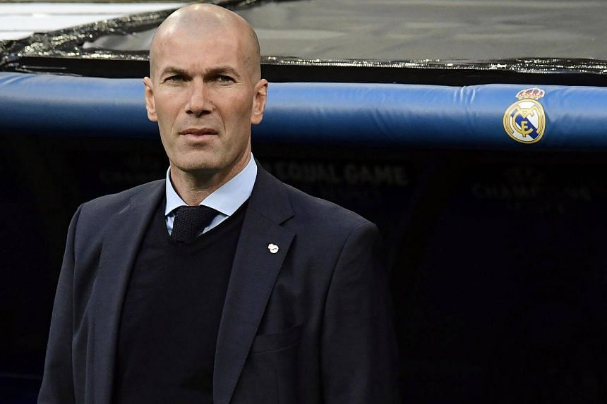 Zinedine Zidane is planning to name his strongest available side against Barcelona.