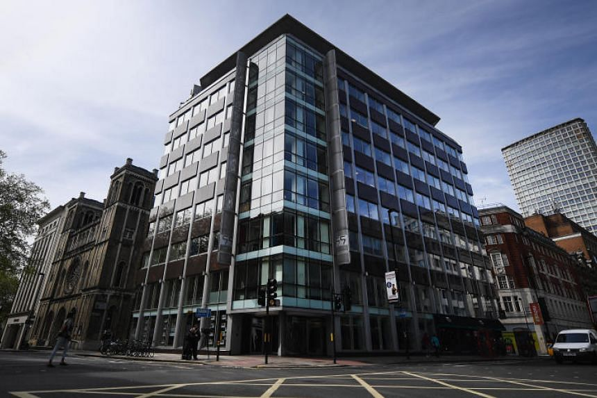 Britains Information Commissioner's Office has ordered Cambridge Analytica (offices pictured) to hand over the personal information it had collected on a US academic.