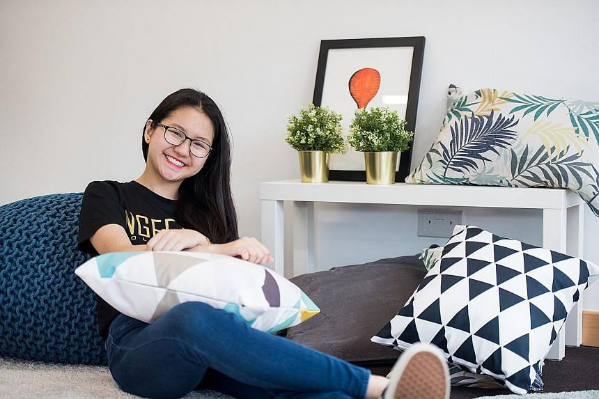"""While initially disappointed at not being accepted for medicine, Ngee Ann Polytechnic graduate Andrea Chua now says there are """"different ways to contribute to the field of medicine, such as through research""""."""