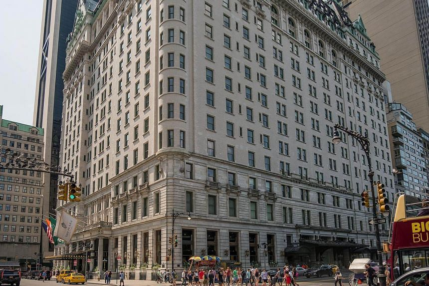 New York's Plaza Hotel has appeared in numerous movies, including Home Alone 2, where US President Donald Trump made a cameo appearance in the lobby.