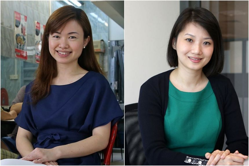 Ms Tin Pei Ling (left) will take over from Ms Sun Xueling as chief executive of Business China with effect from May 21.