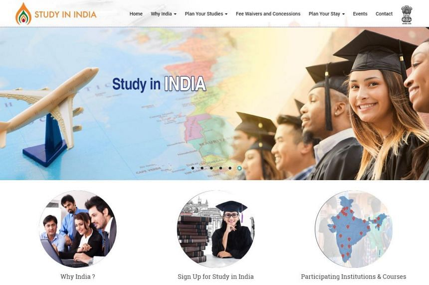 The Study In India programme has also taken the form of a one-stop portal online that helps students choose a course and even facilitates admission in one of the partner institutions.