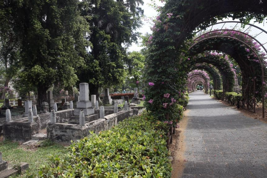 The Japanese Cemetery Park functioned as the primary burial ground for Japanese residents in Singapore until 1973, when the government passed a law prohibiting further burials at 42 cemeteries.