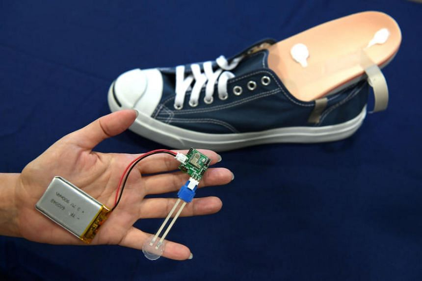Local company Flexosense is working on a shoe insole that uses flexible pressure sensor technology which could help to cut the reulceration rate among diabetic patients.