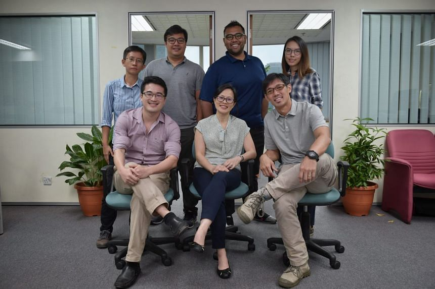 (Seated, from left) Malaysia Bureau Chief Shannon Teoh, Assistant Foreign Editor Lim Ai Leen and Executive Photojournalist Kua Chee Siong. (Standing, from left) Correspondent Tan Hui Yee, multimedia journalist Azim Azman, photojournalist Ariffin Jama