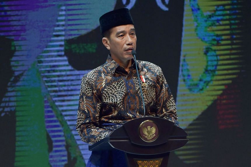 Indonesian President Joko Widodo, who might be the only candidate in the next presidential election.