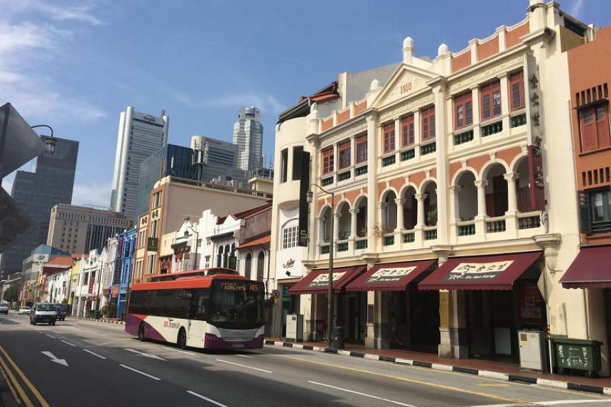 Deals of more than $5 million for conservation shophouses jumped 281 per cent from a year earlier to a record $478.6 million in the first quarter.