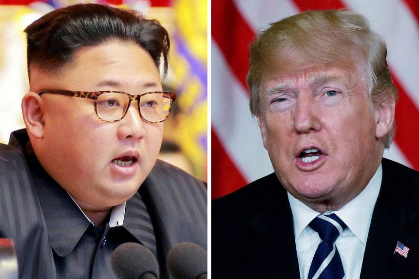 The message to North Korea's Kim Jong Un (left) is that Trump (right) wants a real deal, says the US.