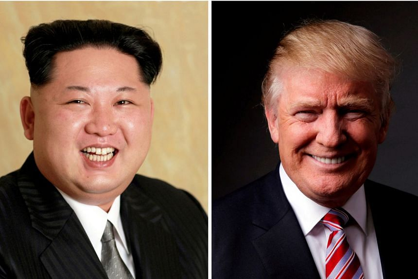 Rumour has it that organising the meeting between Kim (left) and Trump is proving difficult.
