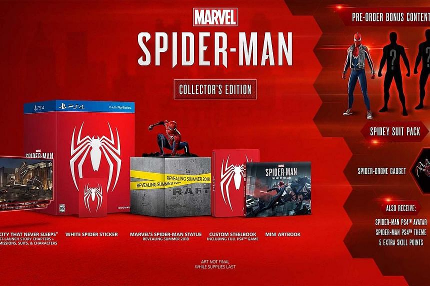 Marvel's Spider-Man Blu-ray Disc Collector's Edition