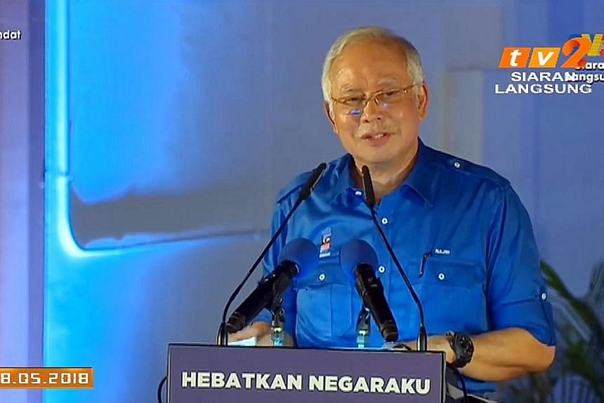 Prime Minister Najib Razak, in his speech carried live on several state and private television stations, said that all youth, 26 years of age or less, will not need to pay income tax at all if BN is given the mandate.