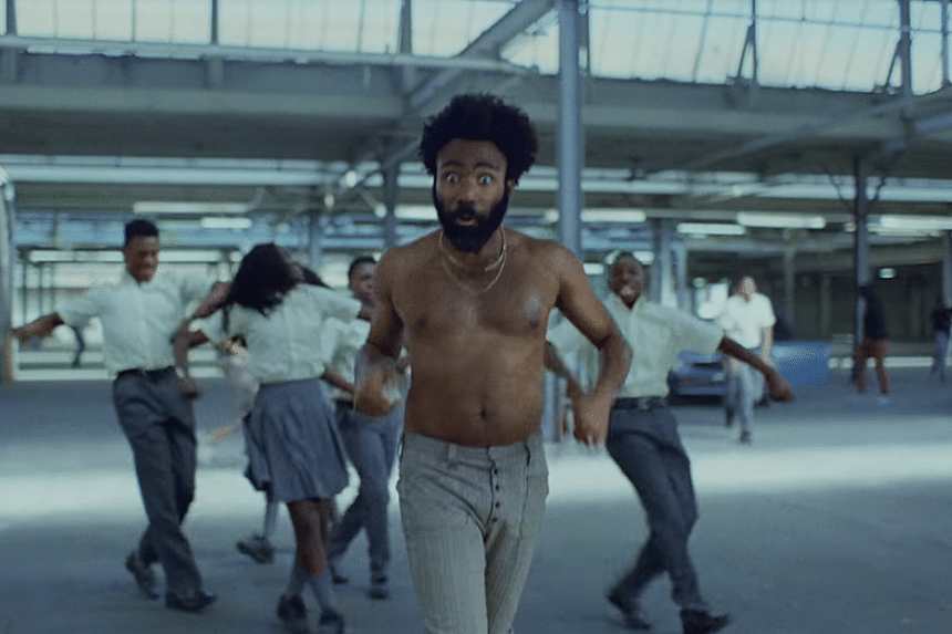 This Is America by Childish Gambino has amassed more than 35 million views on YouTube in two days.