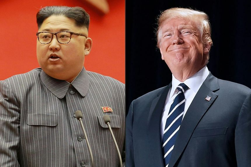 "United States President Donald Trump (right) will ""most likely"" meet North Korean leader Kim Jong Un before the G-7 talks so he can report the results at the summit."