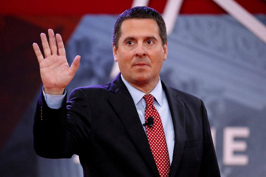 House Intelligence Committee Chairman Devin Nunes said that Justice officials have blocked access to specific documents and that the language in the subpoena was an effort to get access to the underlying information.