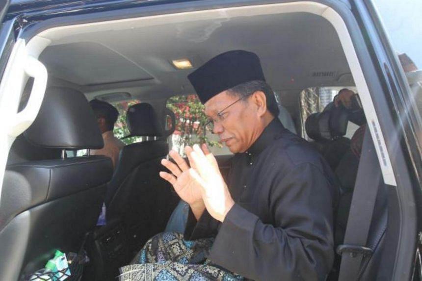 Parti Warisan Sabah Datuk Seri Mohd Shafie Apdal (above) and his team won 29 seats matching the number won by caretaker chief minister Tan Sri Musa Aman of Barisan Nasional.