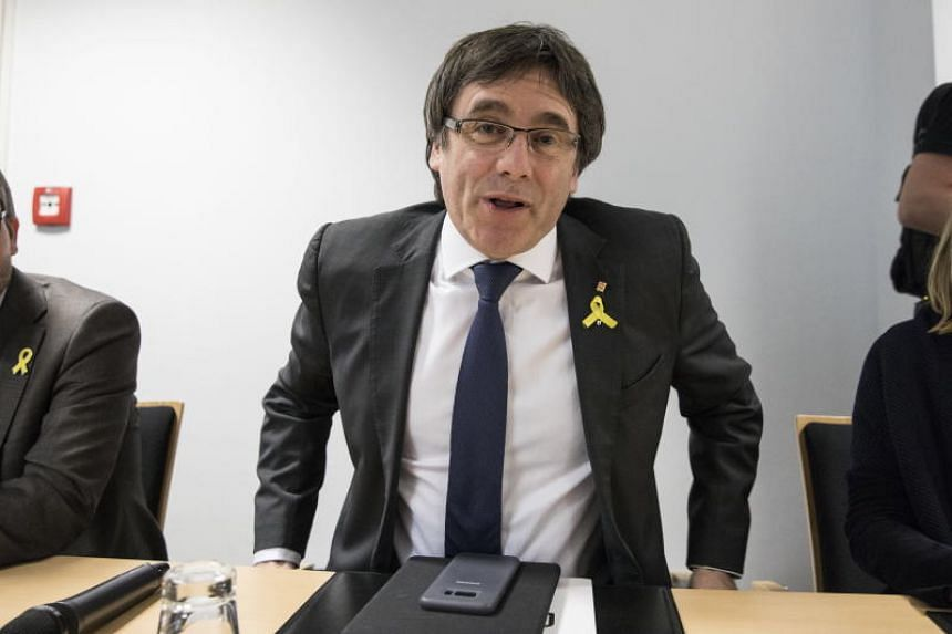 Former President of the Generalitat of Catalonia Carles Puigdemont is currently in Germany after being detained there in March on a European arrest warrant against him issued by Spain.
