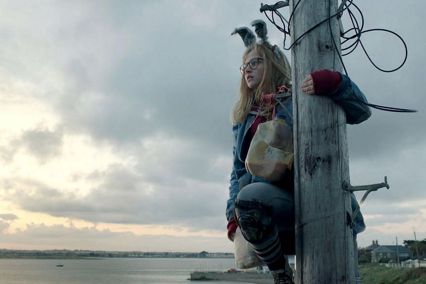 Madison Wolfe stars as an introvert who carries out magic rituals to protect her family in I Kill Giants.
