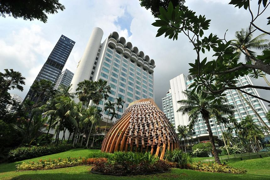 From left: Possible summit locations in Singapore include Shangri-La Hotel, Marina Bay Sands and Sentosa. Shangri-La Hotel, which hosts the annual Shangri-La Dialogue taking place next month, is touted as a top contender.
