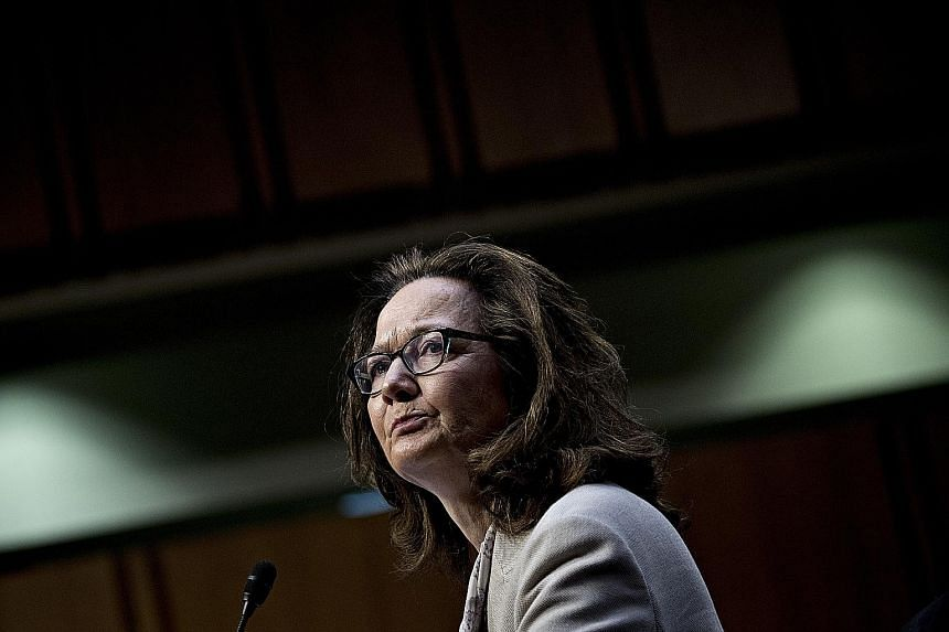 Ms Gina Haspel told the US Senate hearing on Wednesday that she and other CIA spies were working within the law.