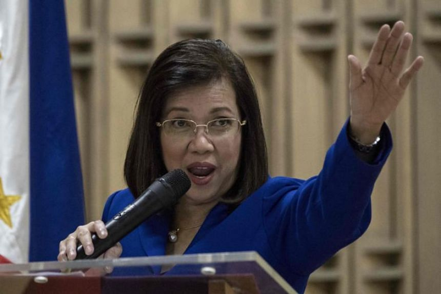 """One opposition party said the ouster of Maria Lourdes Sereno, the country's first woman chief justice, removed a shield against abuse of power in government and left behind a """"puppet Supreme Court""""."""