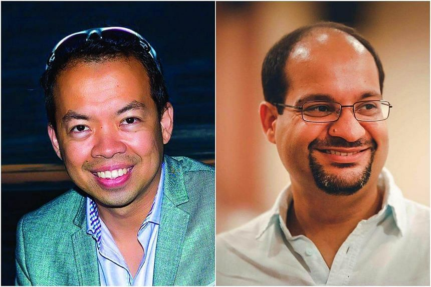 Singapore Press Holdings said in a statement that Mr Glen Gary Francis (left), 43, will take on the role of chief technology officer from May 21, while Mr Gaurav Sachdeva, 37, will be joining as CPO on May 14, 2018.