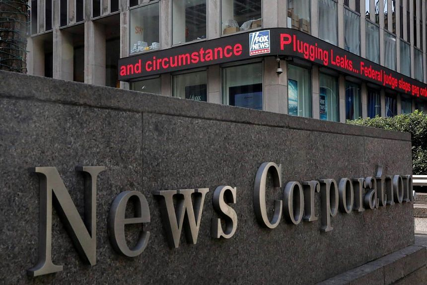 News Corp's overall revenues for the fiscal third quarter rose to US$2.1 billion, helped by increases in digital real estate operations and book publishing.