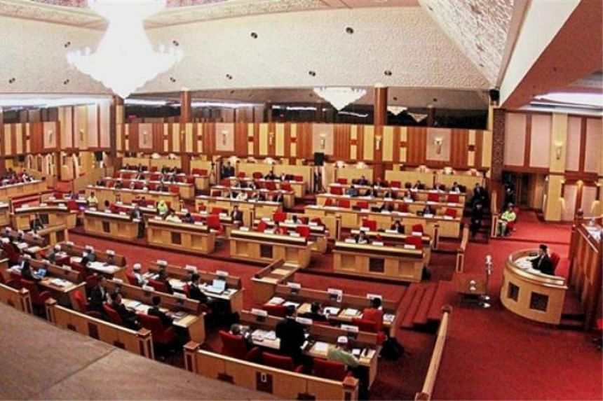 A file image of Perak State Assemby in session.