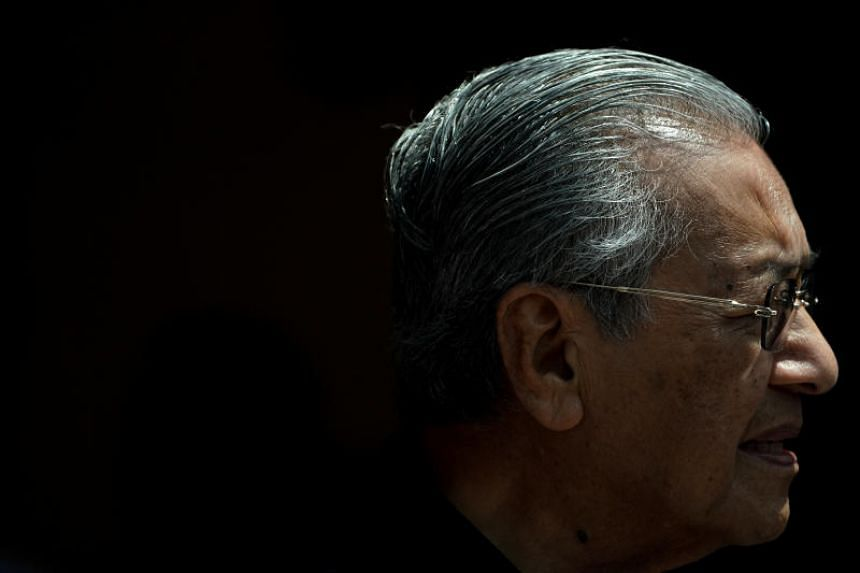 New Malaysian Prime Minister Mahathir Mohamad speaks during a news conference in Kuala Lumpur, on May 11, 2018.