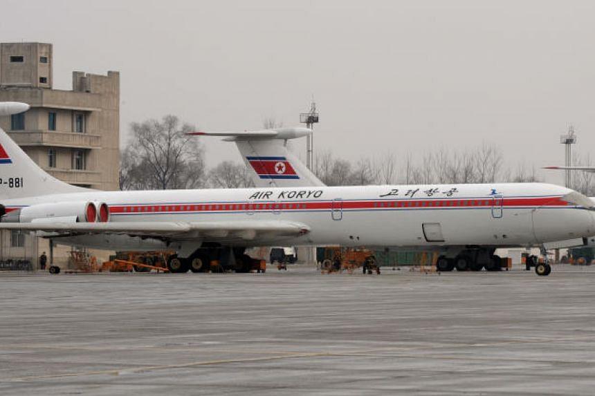North Korean leader Kim Jong Un may fly here on his Soviet-made long-range aircraft, the Ilyushin-62 (Il-62).