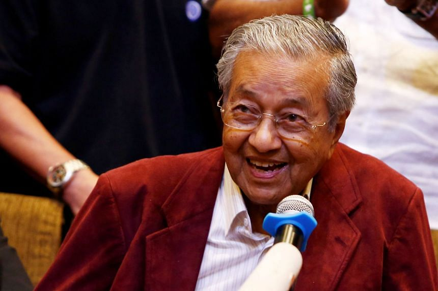 """Malaysian Prime Minister Mahathir Mohamad said Pakatan would unveil a """"small Cabinet"""" with only important ministries."""