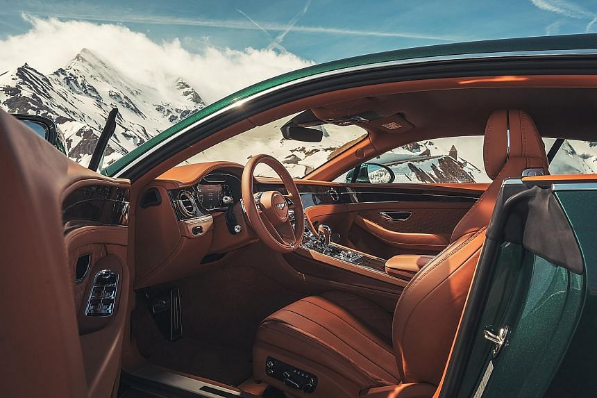 The Bentley Continental GT offers an excellent ride, capable handling and stunning performance.