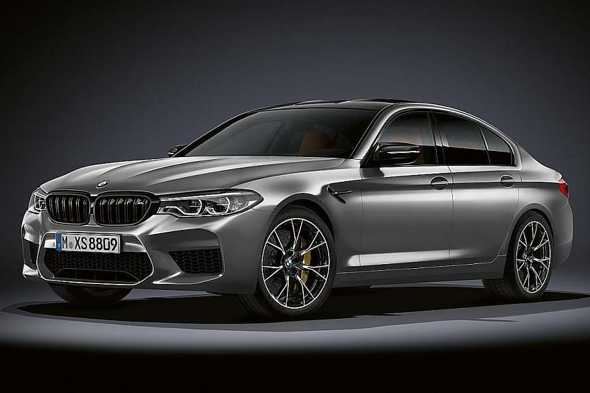 The sixth-generation BMW M5 Competition has been unveiled.