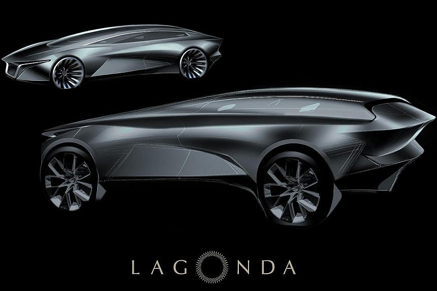 Aston Martin-owned Lagonda has released first sketches of its sport utility vehicle.