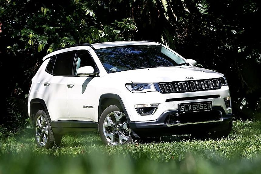 The Jeep Compass is powered by a 1.4-litre turbo mated to a nine-speed autobox.