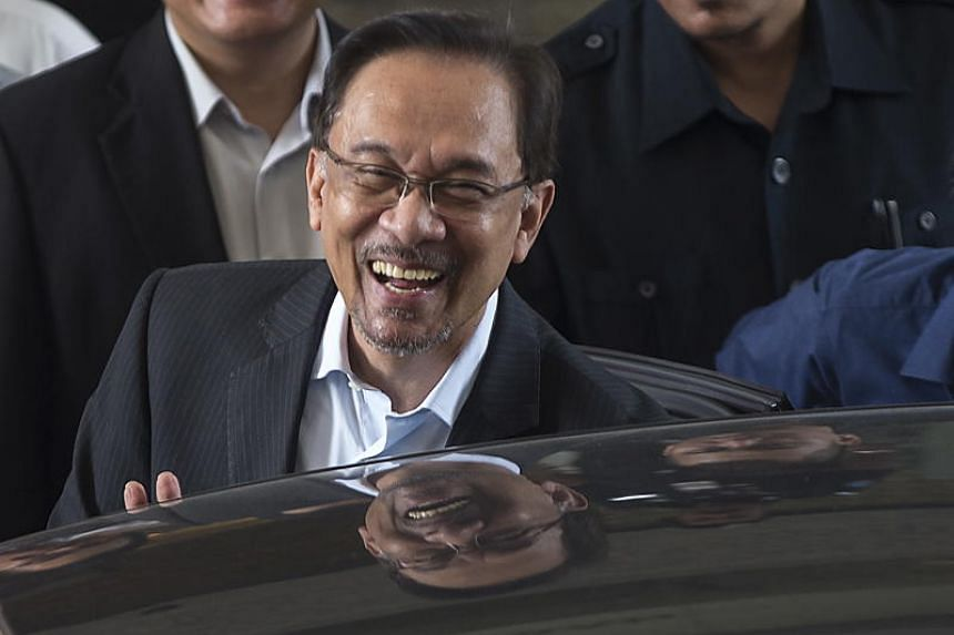 Anwar Ibrahim has been in prison since 2015 for a second sodomy charge which leaders of the Pakatan Harapan coalition had tagged as politically motivated.