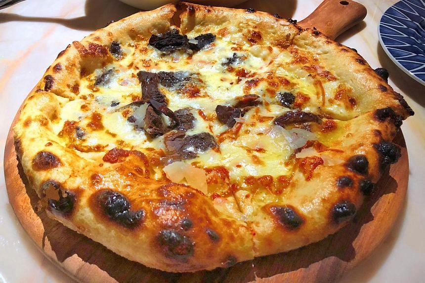 Tartufata pizza from Publico Ristorante.