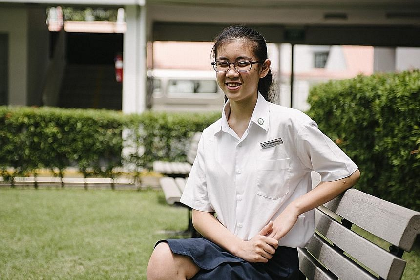 Marianne Leong, 15, used to struggle with speaking, swallowing and chewing because of dyspraxia, a developmental disorder that affects muscle control. But now she is a soprano in a choir that performs overseas.