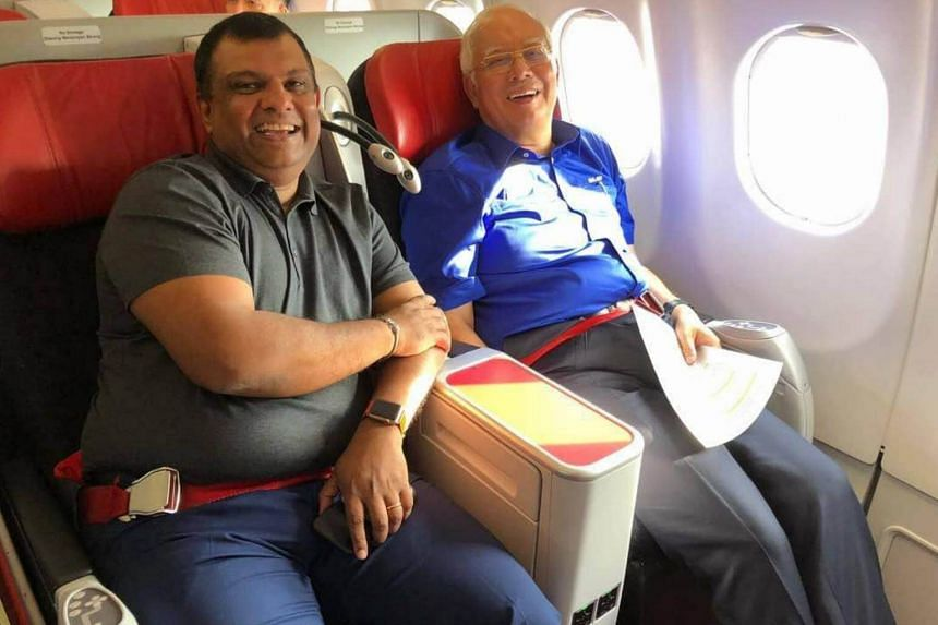 AirAsia chief executive Tony Fernandes had issued an apology days after he received flak for ferrying former Malaysian prime minister Najib Razak on a Barisan Nasional-themed flight.