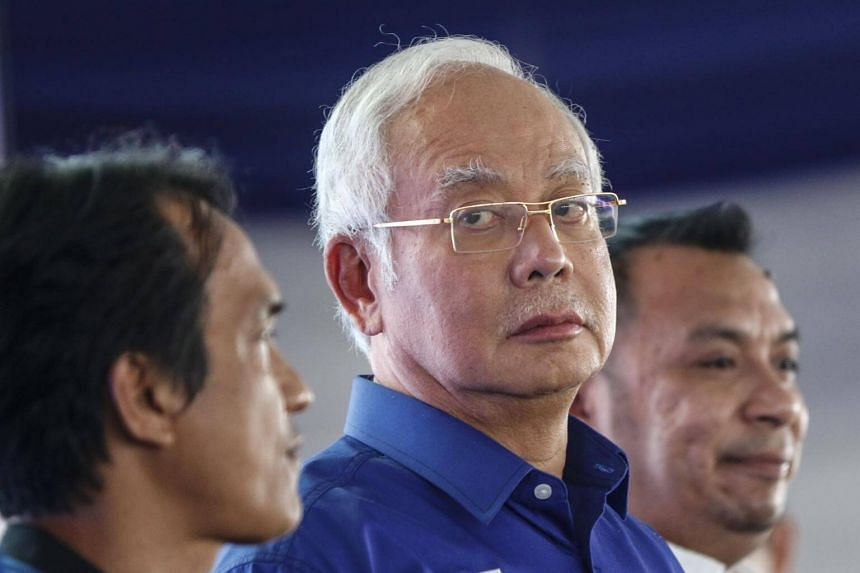 The officer alleged that former Malaysian prime minister Najib Razak used his position for personal gratification and that he owned unexplained properties.