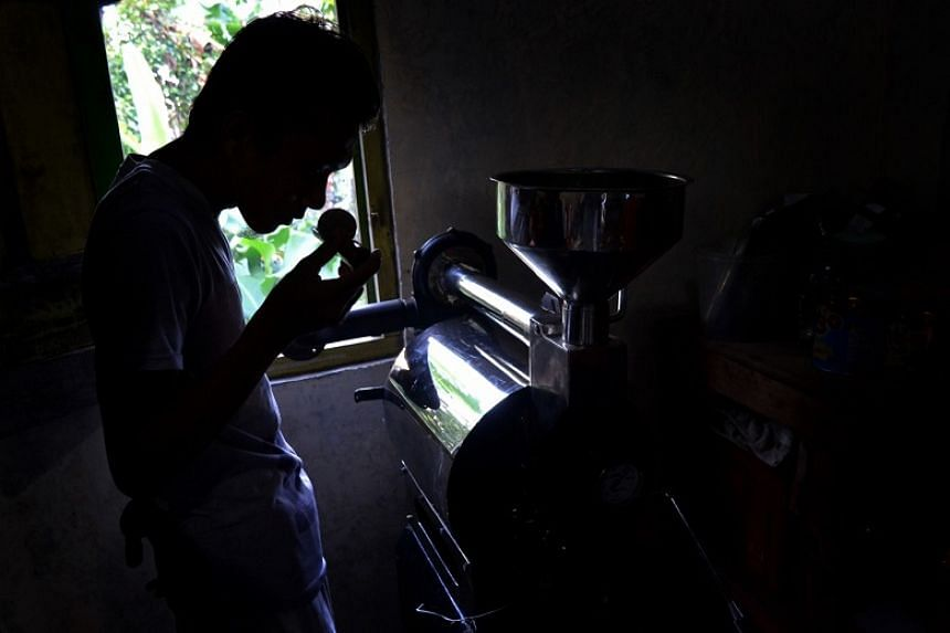 Coffee agribusiness is the path Mr Aprei Kurniawan chose in 2014 and, two years later, to increase the selling point of his home-grown coffee, he established a coffee-roasting house.