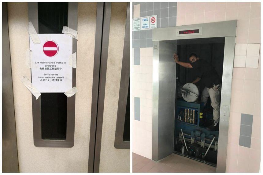 "Student Ang Bing Xuan said the lift ""would suddenly stop and then jerk downwards, and then go up again"", before finally stopping at the 14th floor."