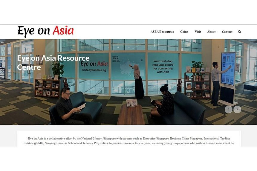 Comprising both a dedicated online portal and a physical space on Level 7 of the Lee Kong Chian Reference Library, Eye on Asia features books and digital resources about living and working overseas.