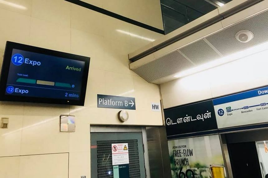 The new Passenger Load Information System will display the load levels in each train car through LCD screens at the platform.