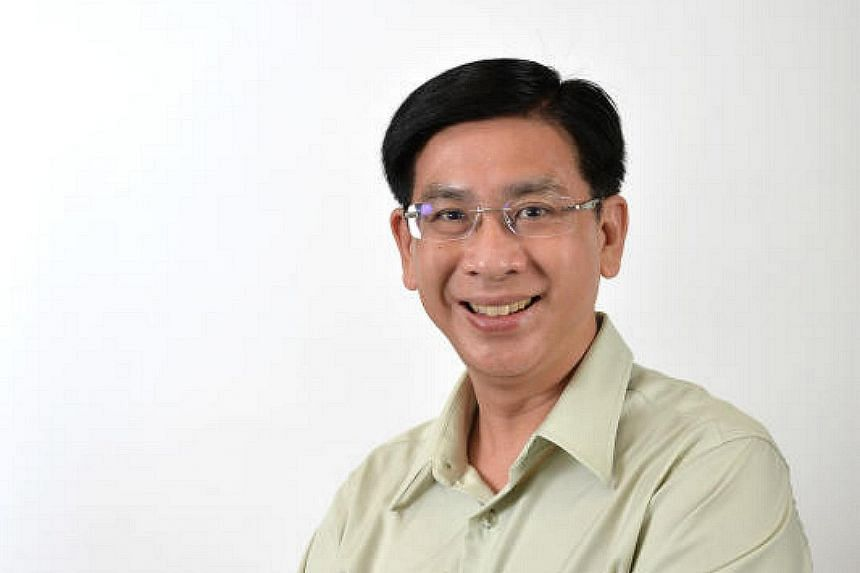 """Jurong GRC MP Ang Wei Neng spoke in Parliament about bridging the gap between people from """"elite"""" and """"non-elite"""" school backgrounds."""